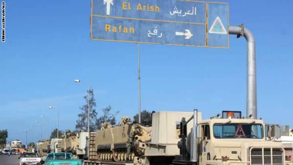 مصر: الجيش يشن &#34أكبر&#34 عملية عسكرية لملاحقة مسلحي &#34بيت المقدس&#34 في مدن شمال سيناء