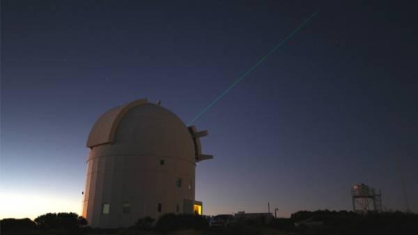 محطة تينيريفي الأرضية الأوروبية تتصل بالمحطة الفضائية الدولية بشعاع ليزر