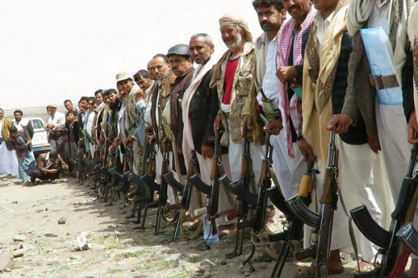 قبيلة قفلة عذر عمران تنتفض بوجه مليشيا الحوثي