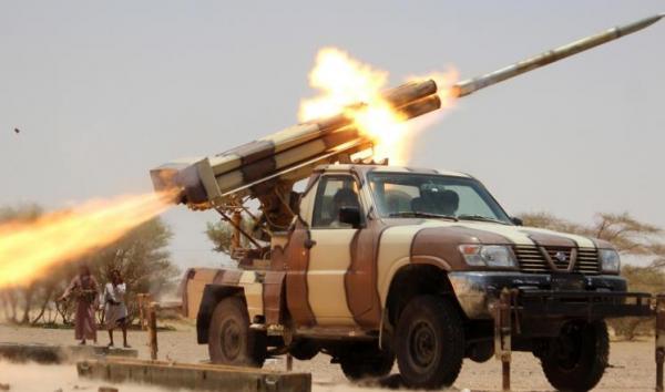 صد زحوفات واعتراض بالستي لمليشيا الحوثي على مأرب