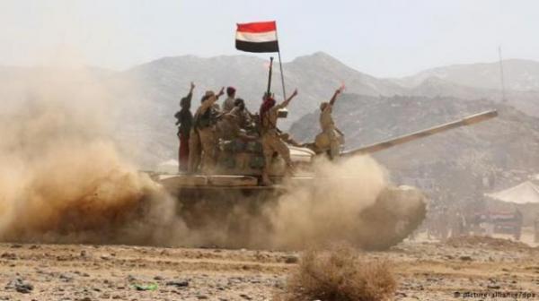 مصدر عسكري: 9 قتلى وجرحى من الحوثيين في هجوم على مواقعهم بصرواح مأرب