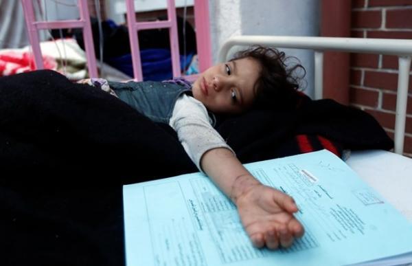 اليونيسيف تحذر من تفشي وباء الكوليرا مجددًا في اليمن