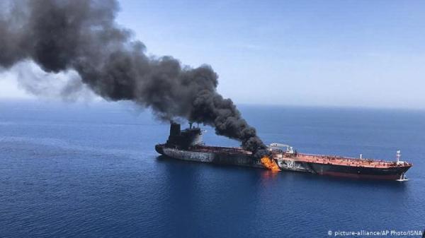 مسؤول بالبنتاغون يرجح مسؤولية إيران عن هجوم الناقلتين في خليج عمان