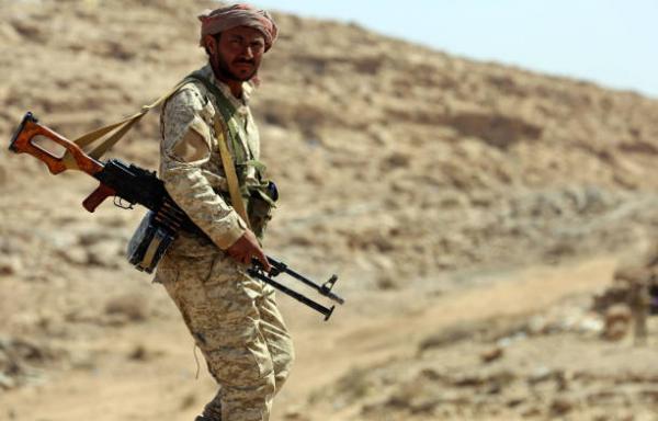"""هجوم واسع على مواقع حوثية أسفر عن تحرير تباب """"السبعة، القدس، نايف"""" ومناطق محيطة بها في جبهة علب بصعدة"""