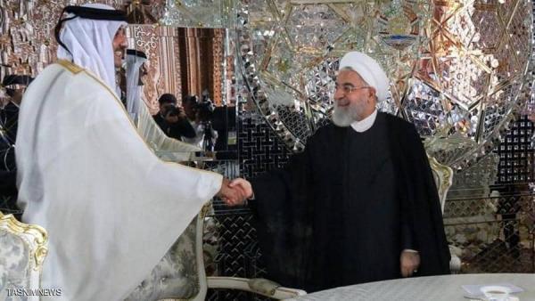 """قطر وإيران تتعهدان بتعزيز العلاقات """"أكثر من السابق"""""""