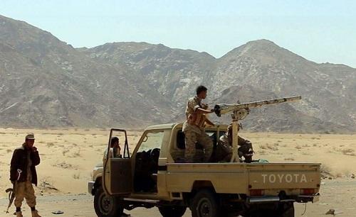 """جرحى باندلاع مواجهات بين قوات من """"اللواء 21"""" وأخرى محلية في مرخة بشبوة"""