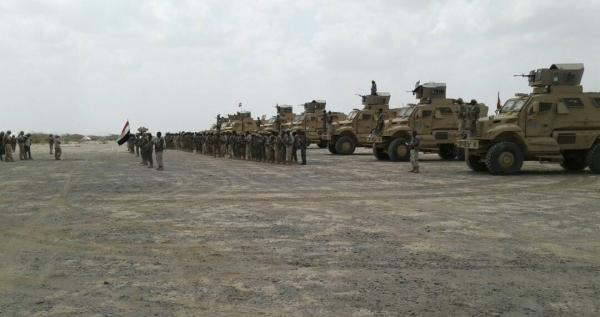 فيديو- وصول تعزيزات عسكرية لالوية حراس الجمهورية في الساحل الغربي