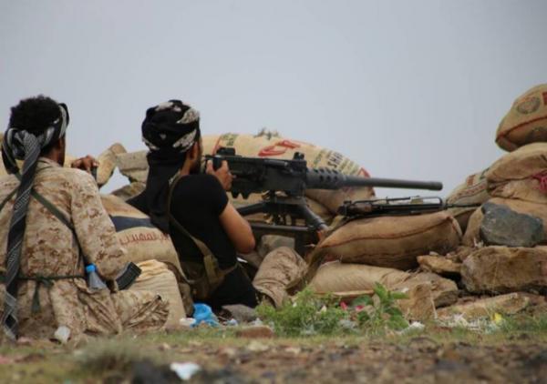 مقتل وجرح العشرات من عناصر مليشيا الحوثي وتدمير آليات بمقبنة تعز