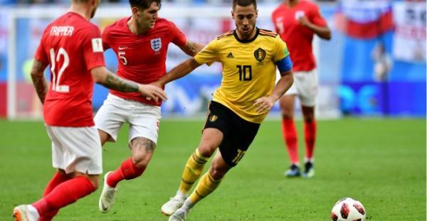 بلجيكا تفوز على إنكلترا 2-صفر وتخطف المركز الثالث للمرة الأولى في تاريخها