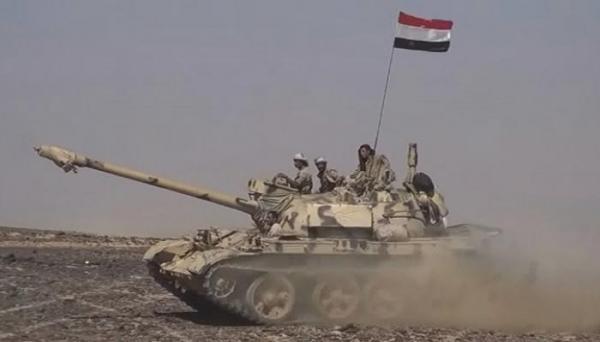 القوات الحكومية تنفذ التفافاً على مجاميع حوثية كانت تستعد لشن هجوم في باقم صعدة وتكبدها خسائر كبيرة