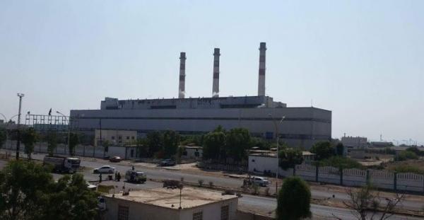 محطة كهرباء الحسوة بعدن تطلق نداء استغاثة