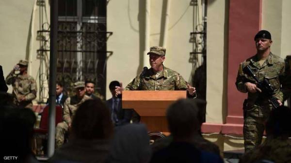 نجاة قائد عسكري أمريكي بارز من هجوم مسلح في أفغانستان