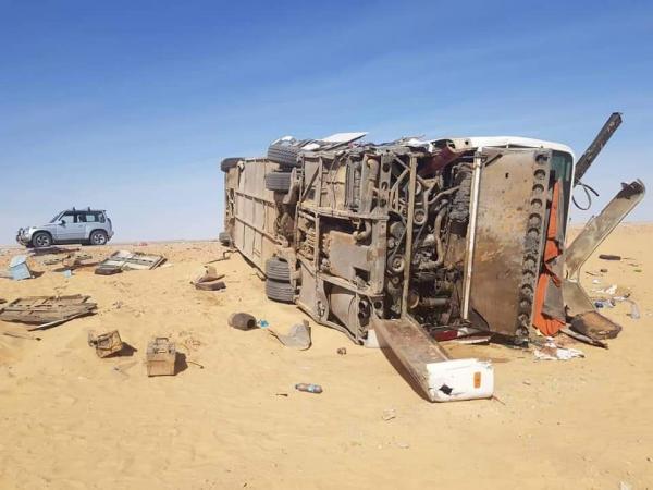 وفاة 8 مسافرين في حادث مروري مروع بالبيضاء