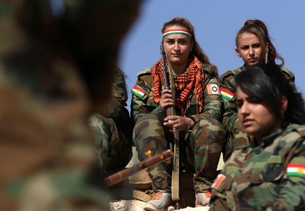 في صور: الكرديات وتحرير الموصل من &#34داعش&#34