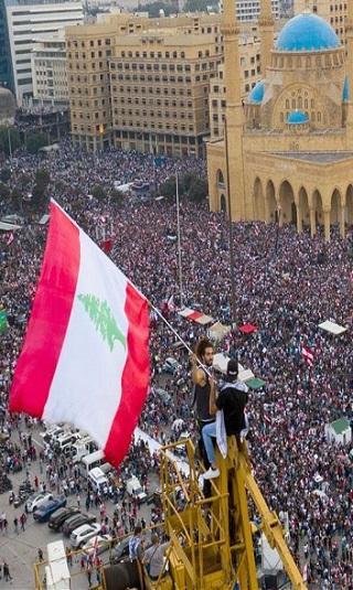 """معهد """"بروكنز"""": انتفاضة لبنان أظهرت تصدعات على واجهة حزب الله"""