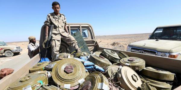 &#34مسام&#34 ينتزع 17,777 لغماً حوثياً متنوعاً في اليمن