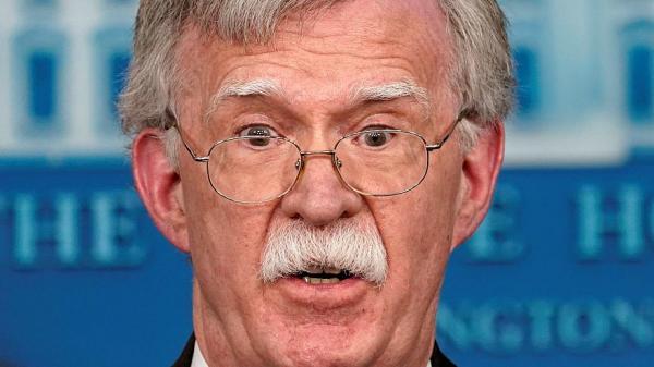 بولتون يؤكد &#34جدية&#34 معلومات استخباراتية بشأن التهديد الإيراني