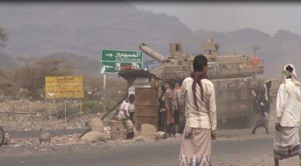 القوات الحكومية تحرز تقدماً ميدانياً جديداً في القبيطة بلحج وفرار جماعي للمليشيا نحو المرابحة