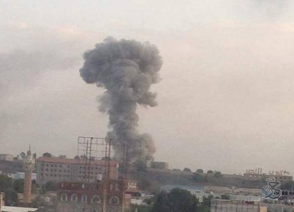 اليمن: قصف جوي على العاصمة صنعاء صباح الخميس