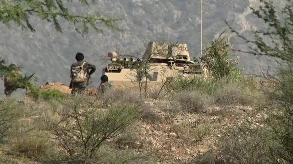 العمليات الحدودية.. قصف مواقع وتدمير آليات وقنص عسكريين سعوديين