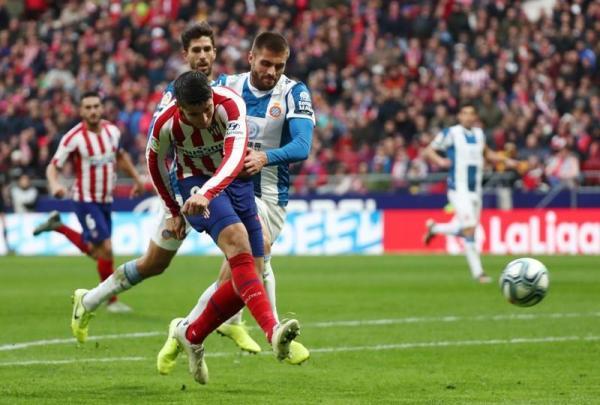 موراتا يواصل تسجيل الأهداف ويصعد بأتليتيكو مدريد للمركز الثالث