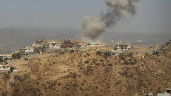 تعز: قصف حوثي بالهاون والمدفعية استهدف قريتي الاشروح ومدهافة بجبل حبشي