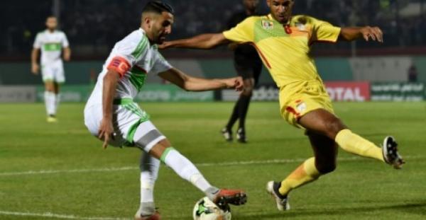 الجزائر تسحق توغو برباعية وتحجز مقعدها في كأس الأمم الأفريقية 2019